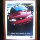 1997 Ford Mustang GT Advertisement, Vintage Ad