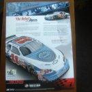 Action Racing Collectible Magazine Print Advertisement (rare)