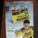 Dollar General Gift Cards Magazine Print Advertisement Burney Lamar
