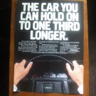 Volvo Vintage Magazine Advertisement