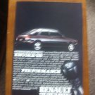 Renault Vintage Magazine Print Advertisement