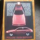 Vintage 1984 Isuzu Impulse Car Magazine Magazine Print Advertisement
