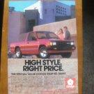 1987 DODGE RAM 50 ORIGINAL VINTAGE AD