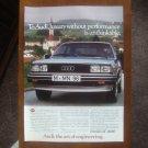 1983 Audi 5000 Turbo Diesel Sedan - Original Car Advertisement Print Ad