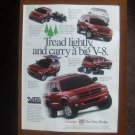Dodge Durango Vintage Magazine Advertisement