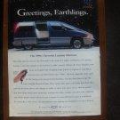 1995 Chevrolet Lumina minivan Van - Classic Vintage Advertisement Ad