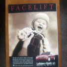 Buick LeSabre Full Size Car Magazine Ad Facelift