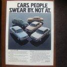 1980 Volvo GT - Swear - Classic Vintage Advertisement Ad