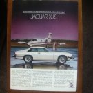1978/1979 white JAGUAR XJ-S sports coupe Ad