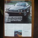 1982 Jaguar XJ-S Ad Advertisement - Vintage
