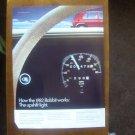 1982 Volkswagen VW Rabbit - Dash - Classic Vintage Advertisement Ad