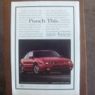 "pontiac grand prix magazine advertisement ""Punch This"""