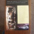 1995 Original AD: Aurora by Oldsmobile Luxury Sedan Cutaway Body Structure
