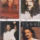 Yanni Cassette Lot (4)