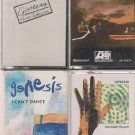 GENESIS CASSETTE LOT (4) AND THEN THERE WERE THREE-I CAN'T DANCE & MORE