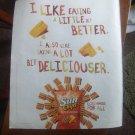 Sun Chips Magazine advertisement I Like Eating