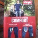 Dale Earnhardt Jr Wrangler Jeans Magazine Print Advertisement Page
