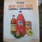 Fuze Iced Tea Magazine Advertisement