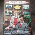 The Gallery of Homes Magazine Advertisement Vintage/Rare