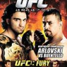 UFC 55 - Fury (DVD, 2006)