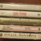 PAUL SIMON CASSETTE TAPE LOT (4) GREATEST HITS-HEARTS AND BONES & MORE