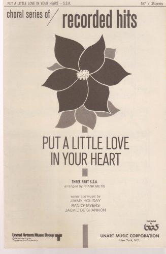 Put A Little Love In Your Heart Sheet Music Sheet music