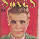 Popular Songs February 1936 Songbook with Dick Powell Cover. Dorothy Lamour