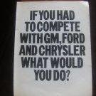 Vintage Magazine Ad American Motors
