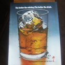 "1970 Original Print AD: Seagram's 7 Crown ""Better the Whiskey Better the Drink"""