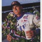 Indy 500 Win Arie Luyendyk Milk Mustache Photo (1997)