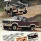 1981 Ford Pickup Trucks Tough in the Rough Ad