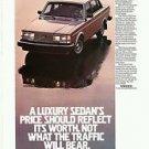 Vintage 1981 VOLVO GLE luxury sedan auto car