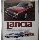 1977 LANCIA COUPE ORIGINAL MAGAZINE AD ADVERTISEMENT