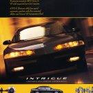 1998 Olds INtrigue Sedan - Original Car Advertisement Print Ad