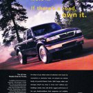 1998 Mazda B-Series Trucks - Mountain - Classic Vintage Advertisement Ad