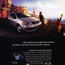 2000 Mazda MPV Van - Original Car Advertisement Print Ad
