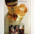 VINTAGE  SEAGRAMS SMOOTH CANADIAN Magazine Advertisement