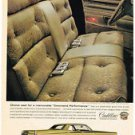 Vintage 1968 Look Magazine Ad for Cadillac Choice Seat for Command Performance