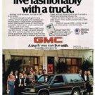1983 GMC S-15 Jimmy Truck Vtg Print Ad