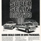 1982 GMC Trucks - Super - Classic Vintage Advertisement Ad