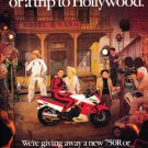 1987 Kawasaki Ninja 750R - Original Motorcycle Advertisement Print Ad