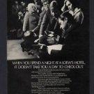 1968 LOEW'S HOTELS WARWICK AMBASSADORS VINTAGE MAGAZINE PRINT ART AD