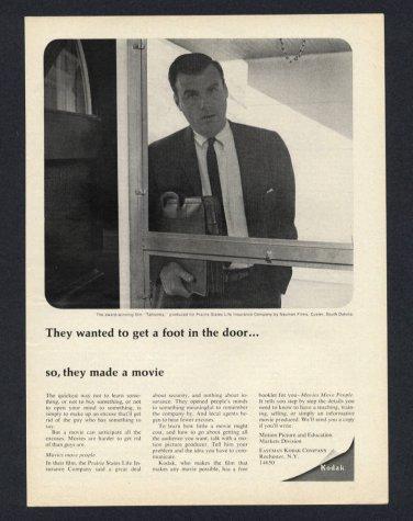 1968 EASTMAN KODAK AWARD WINNING FILM TAHTONKA BY NAUMAN FILMS VINTAGE PRINT AD