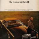 1968 Lincoln Continental Mark III vintage car photo ad Vintage Advertising