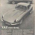 1968 Jaguar XKE Coupe Magazine Advertisement