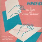 Thinking Fingers - development of pianistic control