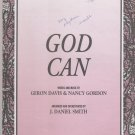 God Can Sheet Music - Integrity Music