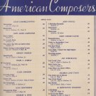 Songs by American Composers - Sheet Music - Nocturne 1923