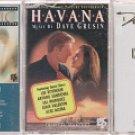 DAVE GRUSIN CASSETTE LOT-HAVANA SOUNDTRACK-COLLECTION & CNEMAGIC (3)