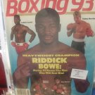 May 1993 Boxing Magazine Riddick Bowe